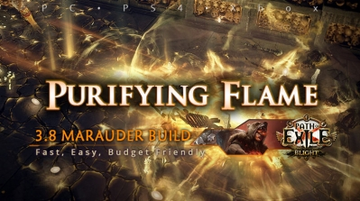 [Mauarder] PoE 3.8 Purifying Flame Chieftain Starter Build (PC, PS4, Xbox)